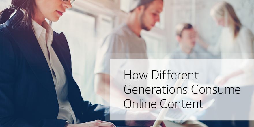 How Different Generations Consume Online Content