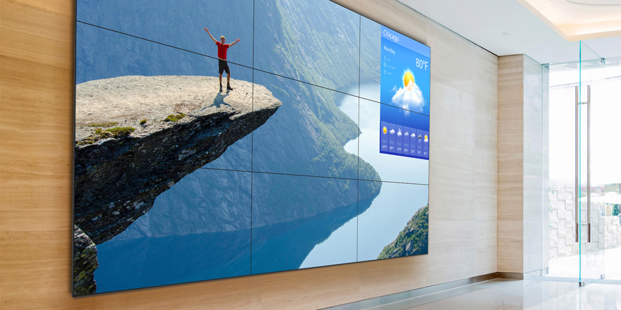 Video Walls Slim Down and Lighten Up to Reduce Costs