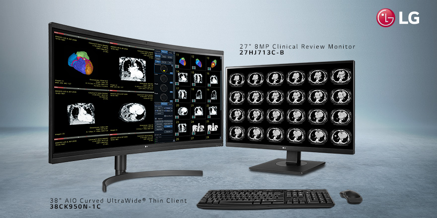 See LG's Advanced Medical Imaging Capture and Display Devices at HIMSS19