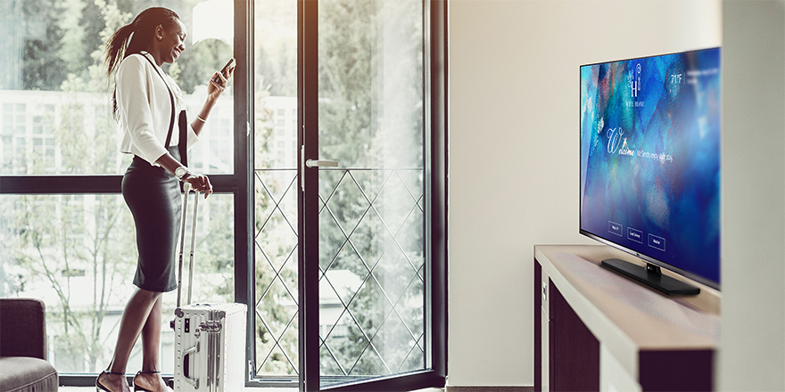 Four Reasons Tomorrow's Hotel TVs Will Be at the Center of the Guest Experience