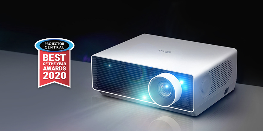LG ProBeam 4K Laser Projector for Business Receives 2020 Best of Year Award from ProjectorCentral