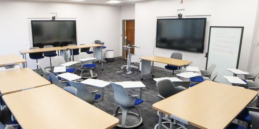 Georgetown Introduces Its Faculty and Students to a Multi-Dimensional Classroom