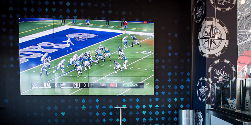 Over 1,000 LG Commercial Displays Intensify the Visitor Experience at Dallas Cowboys AT&T Stadium