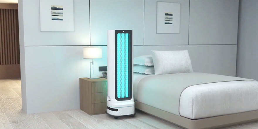 New LG UV-C Robot to Bring Autonomous Bacteria & Virus Elimination to High-Touch, High-Traffic Business Environments